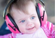 Banz Baby Earmuffs peace  (0-2 years)