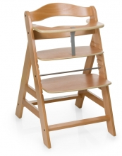 Hauck high chair Alpha + B natur