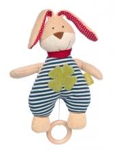 Sigikid 39048 Muscial toy rabbit green