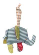 Sigikid 38957 hanger elephant green