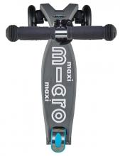 Micro MMD 023 Maxi Kickboard® deluxe with T-handle volcano grey