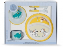 Sterntaler 6801950 childrens dinner set zoo