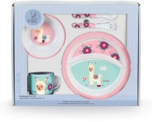 Sterntaler 6801953 childrens dinner set lama Lotte
