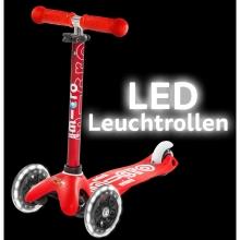 Micro LED illuminated castor set AC9038B for mini micro