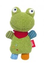 Sigikid 39151 rattle Fleck the frog
