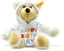 Steiff 012310 Charly teddy bear 23 beige Happy Birthday