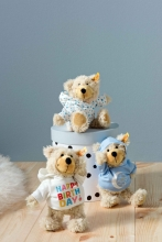 Steiff 012389 Charly teddy bear 23 beige stars