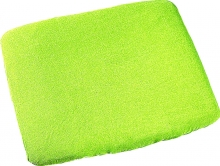 Odenwälder lime terrycloth cover for changing mat 75x85cm
