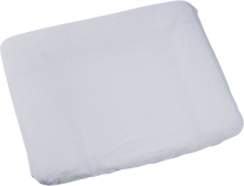 Odenwälder silver terrycloth cover for changing mat 75x85cm