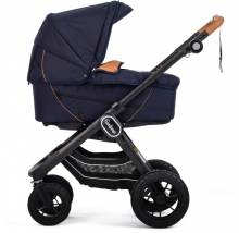 Emmaljunga NXT90F Outdoor navy inclusive carrycot Supreme