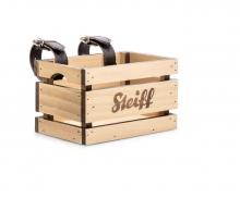 Steiff 751028 Basket for balance bike brown/beige