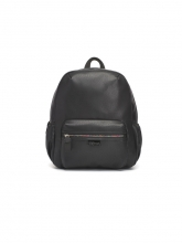 Babymel diaper backpack Luna Faux Leather Black