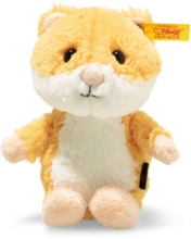 Steiff 073816 Happy hamster 14 gold/white