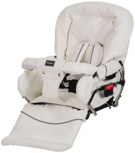 Emmaljunga Mondial de Luxe Leatherette White