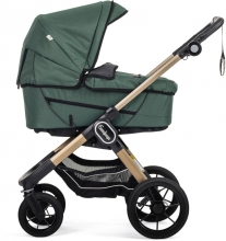 Emmaljunga NXT90F Eco green inclusive carrycot Supreme