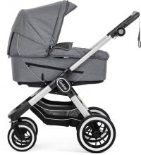 Emmaljunga NXT90F Lounge grey inclusive carrycot Supreme