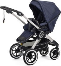 Emmaljunga NXT90F Lounge navy inclusive carrycot
