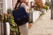 Babymel George Black-Navy diaper bag