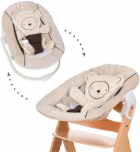 Hauck Alpha Bouncer 2 in 1 Hearts beige
