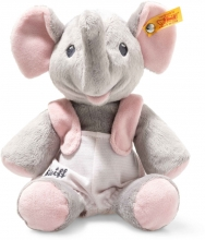Steiff Trampili elephant 24 cm grey / pink