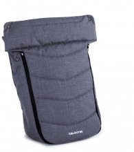 Teutonia Trio Footmuff melange grey