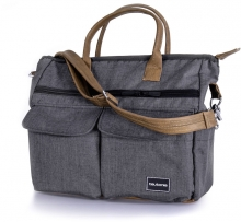 Teutonia Care changing bag melange grey