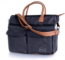 Teutonia Care changing bag melange black