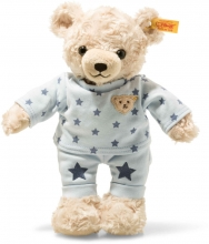 Steiff Teddybär Junge 27 cm hellblond / blau