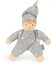 Sterntaler doll Heiko light grey