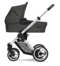 Mutsy Evo Bold Deep Grey 2019 incl. carrycot, seat and frame