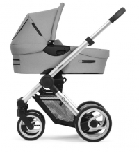 Mutsy Evo Bold Pebble Grey 2019 incl. carrycot, seat and frame