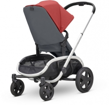 Quinny Hubb Stroller Red on Graphite