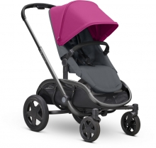 Quinny Hubb Stroller Pink on Graphite