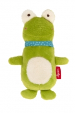 Sigikid 42278 Squeaking toy Frog Red Stars