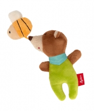 Sigikid 42294 Rattle Bear with bee Red Stars