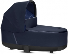 Cybex Priam Lux Carrycot Indigo Blue - without frame