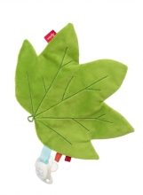 Sigikid Pacifier crackling leaf Maple