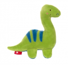 Sigikid Squeaking toy dino green Red Stars