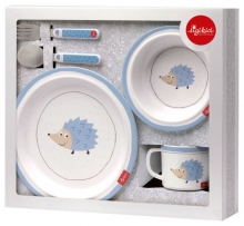 Sigikid melamine childrens harness set hedgehog