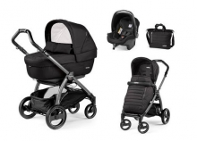 Peg Perego Set Book 51S incl. Set Elite Breeze noir 3 in 1