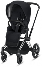 Cybex Priam Premium Black incl. frame and seat with sun canopy
