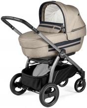 Peg Perego stroller set Book S Elite Titania Luxe Ecru