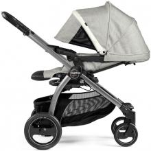 Peg Perego stroller set Book S Elite Titania Luxe Pure