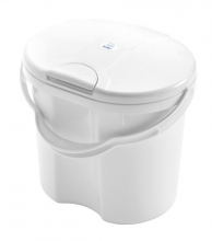 Rotho diaper bucket Top white