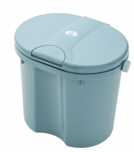 Rotho diaper bucket Top lagoon