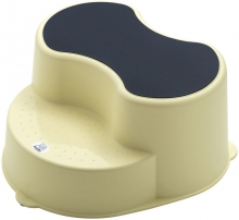 Rotho footstool Top yellow delight