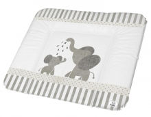 Rotho Wide changing pad 72x85 cm white Modern Elephants