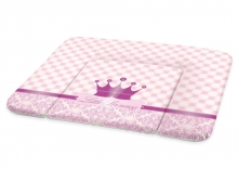 Rotho Wide changing pad 72x85 cm tender rosé pearl Little Princess