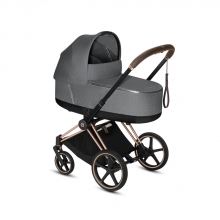 Cybex Priam Lux Plus Carrycot Manhattan Grey - without frame