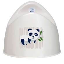 Rotho Bio potty panda organic white